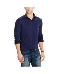 Polo Ralph Lauren - Blue Hampton Cotton Jersey Shirt for Men - Lyst