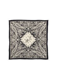 Polo Ralph Lauren - Black Silk Bandanna - Lyst