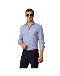 Ralph Lauren Purple Label | Blue Bengal Stripe Aston Shirt for Men | Lyst