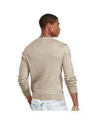 Polo Ralph Lauren - Natural Slim-fit Pima Cotton Sweater for Men - Lyst