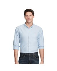 Polo Ralph Lauren - Blue Sports Shirt for Men - Lyst