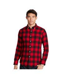 Polo Ralph Lauren | Black Plaid Cotton Sport Shirt for Men | Lyst