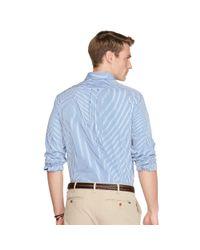 Polo Ralph Lauren - Blue Bengal-stripe Poplin Shirt for Men - Lyst