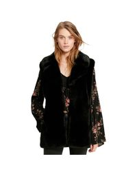 Denim & Supply Ralph Lauren | Black Faux-fur Vest | Lyst