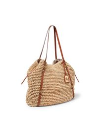 Pink Pony - Natural Goswell Straw Tote - Lyst
