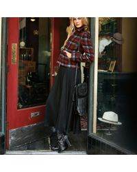 Polo Ralph Lauren - Black Fringe Leather Crossbody Bag - Lyst