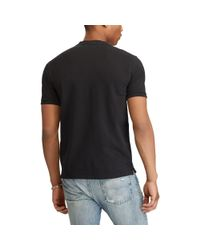 Pink Pony - Black Featherweight Mesh Henley for Men - Lyst