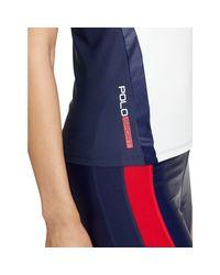 Polo Ralph Lauren Blue Skinny-fit Polo Shirt