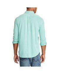 Polo Ralph Lauren - Multicolor Classic Fit Cotton Mesh Shirt for Men - Lyst