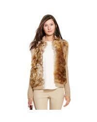 Polo Ralph Lauren | Multicolor Shearling-trim Sweater Jacket | Lyst
