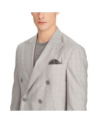 Ralph Lauren Purple Label - Gray Houndstooth Twill Sport Coat for Men - Lyst