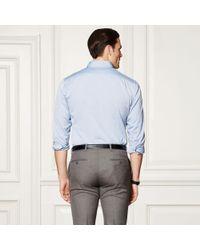 Ralph Lauren Purple Label - Purple Oxford Shirt for Men - Lyst