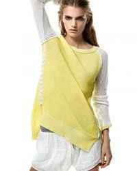 Ramy Brook - Yellow Kaylin Sweater - Lyst