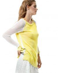 Ramy Brook | Yellow Kaylin Sweater | Lyst