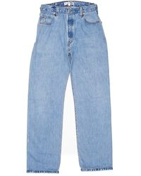 Re/done   Blue Ultra High Rise for Men   Lyst