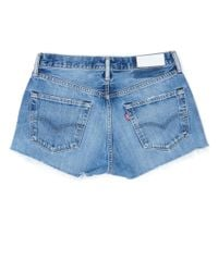 Re/done - Blue The Short - Lyst