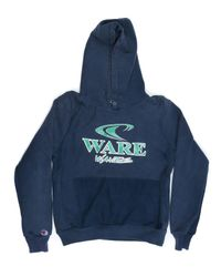 Re/done - Blue Champion Hoodie for Men - Lyst