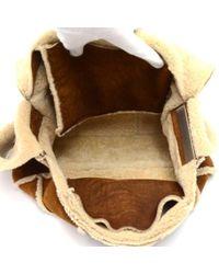 Chanel - Brown Mutton Shoulder Flap Bag - Lyst