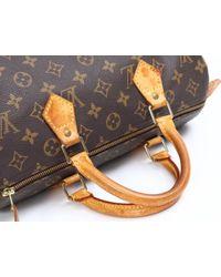 Louis Vuitton - Brown Speedy Cloth Handbag - Lyst