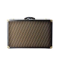 Fendi - Multicolor Vintage Travel Luggage Of The 1998 In Calfskin With Logos Of The Brand - Lyst