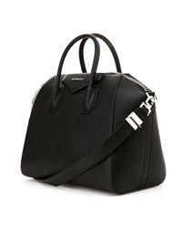 Givenchy - Black Antigona Medium Bag - Lyst