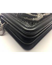 Chanel - Calfskin Leather Handbag Black - Lyst