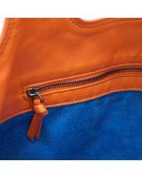 Bottega Veneta - 131673 Intrecciato Handbag Light Brown Leather - Lyst
