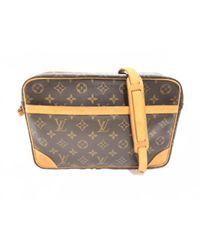 4db06be2cf92 Lyst - Louis Vuitton Trocadero 30 Shoulder Bag M51272 Monogram Brown ...