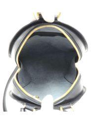 Louis Vuitton - Mabillon Black Epi Leather Backpack Bag - Lyst