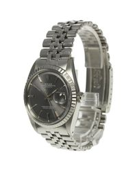 Rolex - Metallic Datejust 1603 Cal.1570 Automatic Mens Pre-owned for Men - Lyst