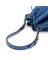 Louis Vuitton - Vintage Petit Noe Blue Epi Leather Shoulder Bag - Lyst