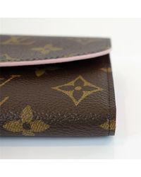 Louis Vuitton - Brown M64202 Monogram Portefeuille Emily Purse - Lyst
