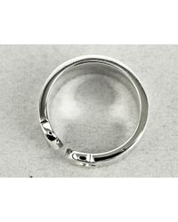 Cartier - Metallic Happy Birthday Ring2000 Christmas Limited K18wg Silver Size Us5.25-5.5 Eu50 Used (a) - Lyst