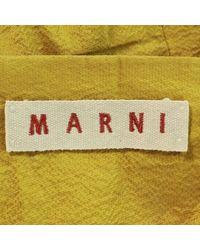 Marni - Long Skirt Yellow 40 - Lyst