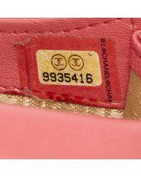 Chanel - Red Lambskin Phone Case - Lyst