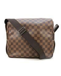 97640f73694a Louis Vuitton. Women s Naviglio Shoulder Crossbody Bag N45255 Damier Brown