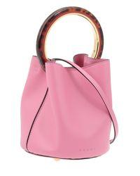 Marni - Pink Pannier Bag - Lyst