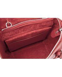 Céline - Red Céline Micro Belt Bag - Lyst