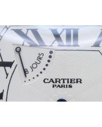 Cartier - Black Tortuexl Wg Manual 8days Power Reserve W1545951 Men's Watch for Men - Lyst