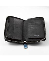 Louis Vuitton - Black Damier Zippy Wallet Vel Tikal N63095 Pre-owned - Lyst
