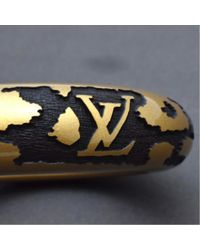 Louis Vuitton - Metallic M65964 Wood Bracelet - Lyst