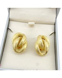Dior - Metallic Earring Double Ring Womens Used T4564 - Lyst
