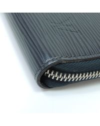 Louis Vuitton - Blue Epi Purse (with Coin Purse) M60665 Zippy Organizer - Lyst