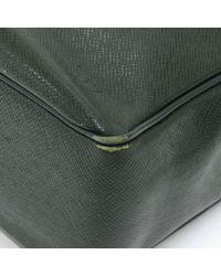 Louis Vuitton - Yaranga Green Taiga Leather Messenger Bag - Lyst
