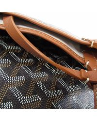 Goyard - Brown Pvc Tote Bag Saint-louis Pm - Lyst