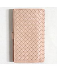 Bottega Veneta - Brown Wallet - Lyst