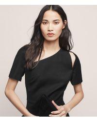 Reiss - Black Huxley Ss Dress - Lyst