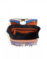 I Blues - Sila Lucky Shoulder Bag, Chained Strap Brown Bag - Lyst