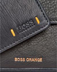 BOSS Orange - City 4cc Coin Holder Black Wallet for Men - Lyst