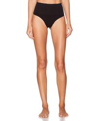 Spanx   Black Everyday Shaping Thong   Lyst